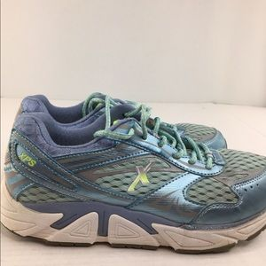 Xelero Women's Genesis XPS Walking Shoes Blue Lace